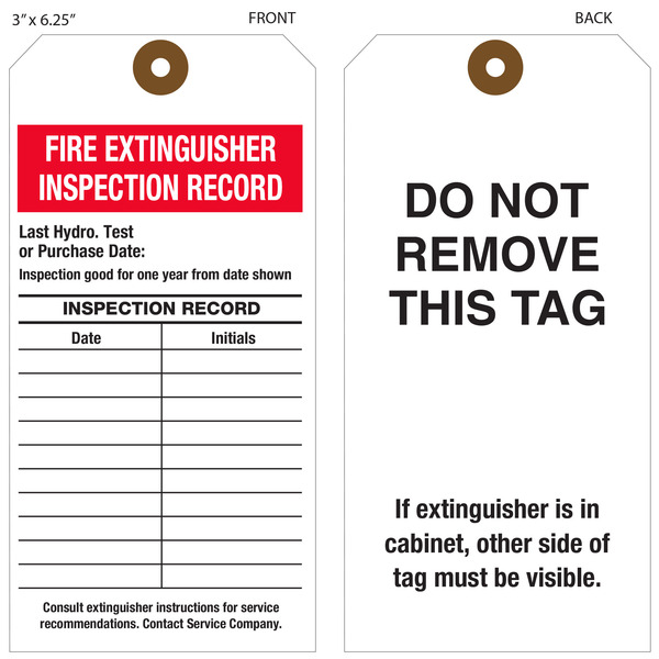 Inspect Your Fire Extinguishers