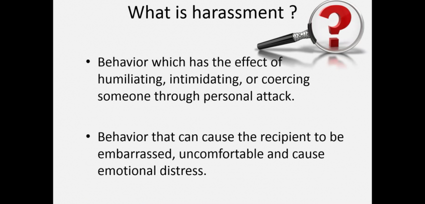 Harassment and Discrimination Awareness