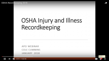 OSHA Recordkeeping Requirements 2018