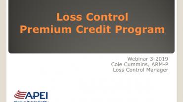 Premium Credit Program